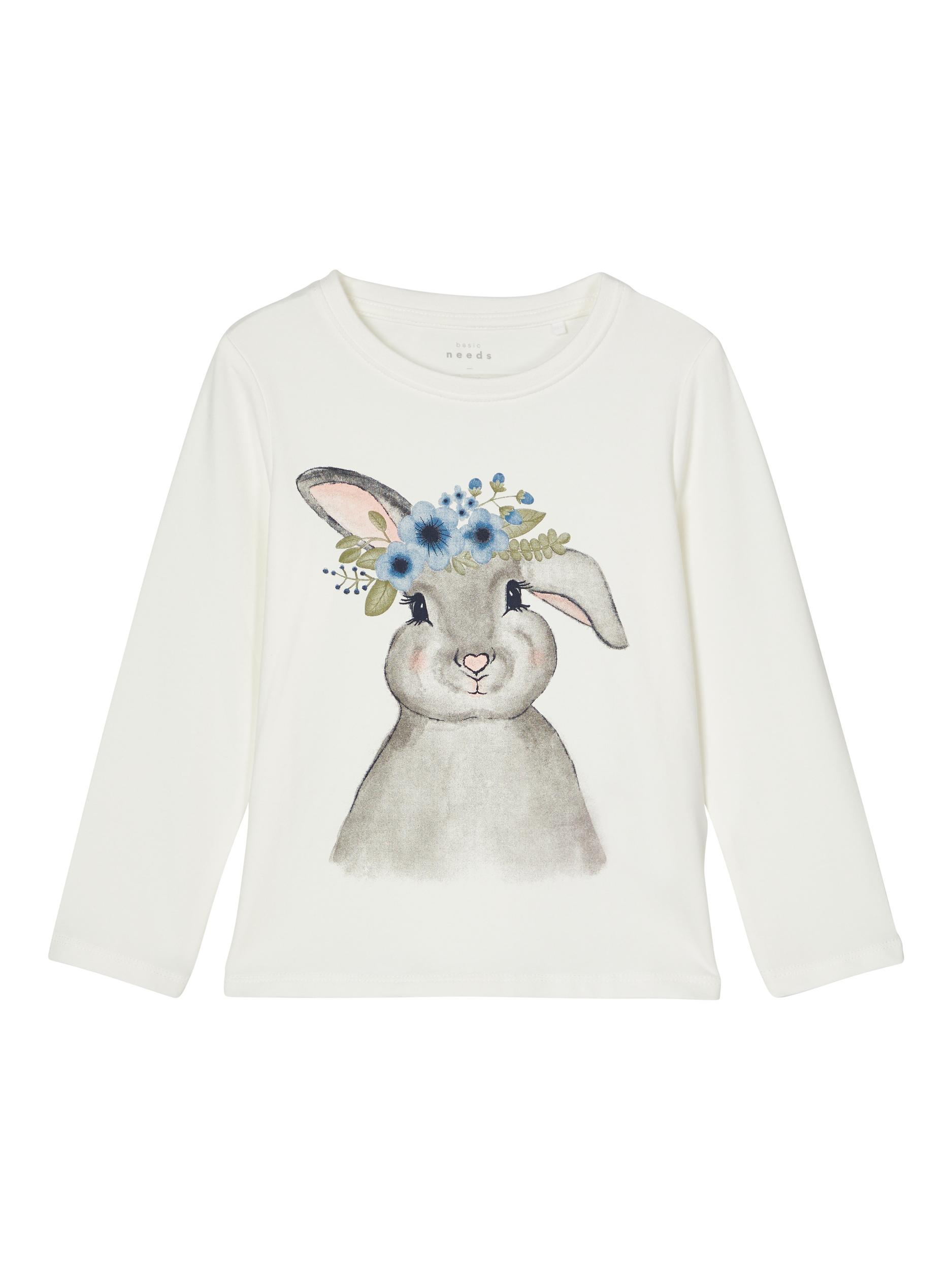 Langarmshirt  VIX LS Top -Mini snow white-