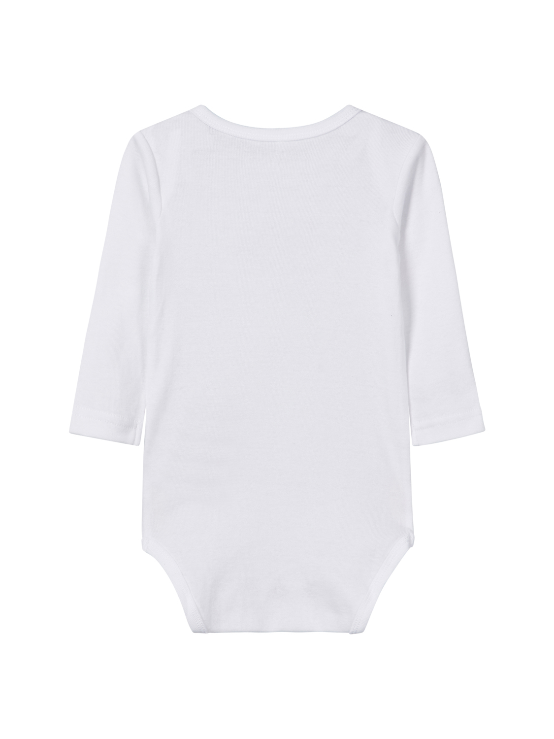 Body 3er Pack LS -Mädchen- Bright White