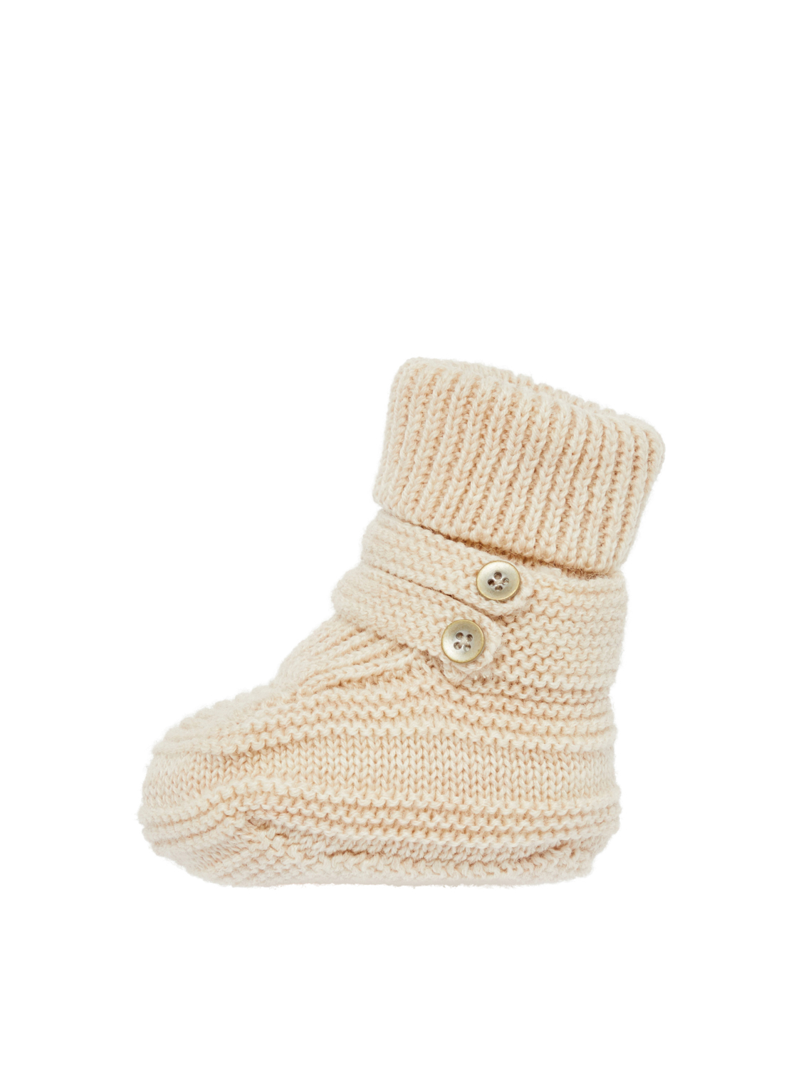 Wollslipper für Babys WRUNI WOOL KNIT SLIPPERS